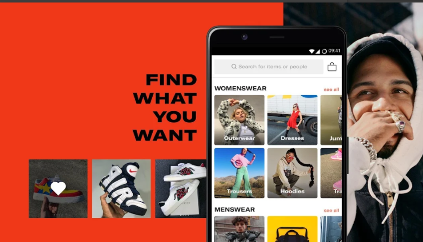 تسوق ملابسك من الماركات المشهورة وبأرخص الأسعار عن طريق هذا التطبيق Depop